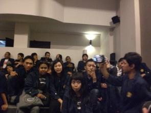 Saat Studi Tour ke Kantor TV One, Jakarta (30/04/08)