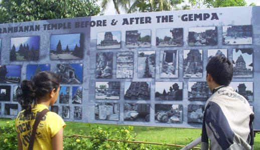 Prambanan After Gempa